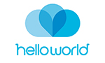 HelloWorld Logo STACKED-RGB